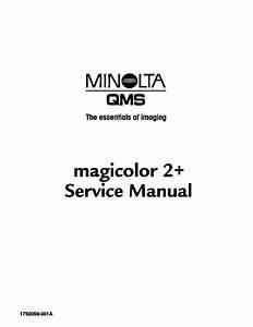 Konica Minolta Qms Magicolor2 Duplex Service Manual