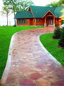Fancy Stamped Concrete Designs