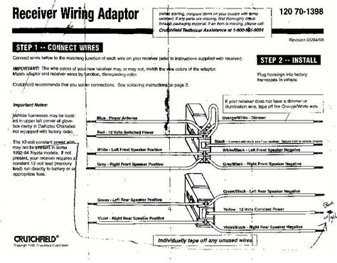 Scosche Locsl Wiring Diagram Car Speakers Audio System