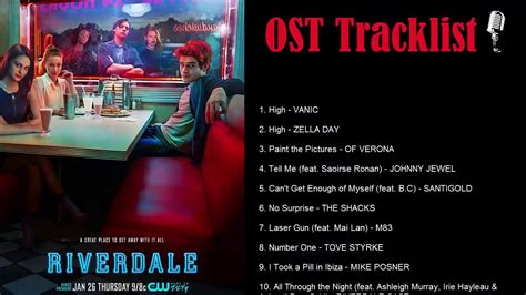 riverdale soundtrackost tracklist youtube
