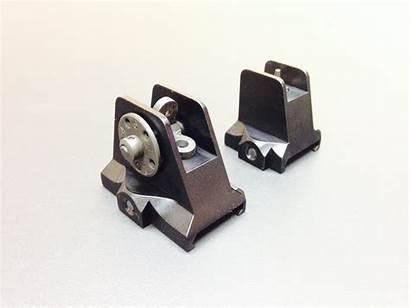 Sights Fixed Rear Max Lage Steel Upper