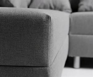 Eckcouch Mit Hocker : eckcouch clovis grau flachgewebe mit hocker ottomane rechts ecksofa ~ Eleganceandgraceweddings.com Haus und Dekorationen