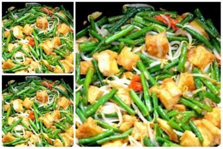 Resep tumis udang kacang panjang pedas manis. Resep Tumis Kacang Panjang Tahu Tauge Pedas - County Food