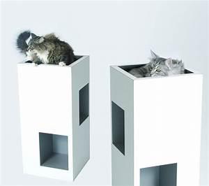 Arbre A Chat Solide : arbre a chat design carton ~ Mglfilm.com Idées de Décoration
