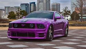 Purple Madness: Mustang Rocking a Set of Custom Wheels — CARiD.com Gallery