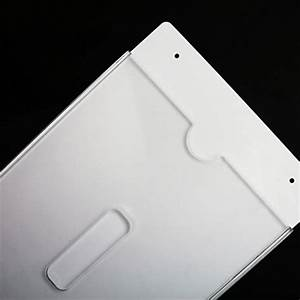 multi use acrylic a4 sign holder wall mount paper file With acrylic wall document holder