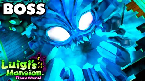 Luigis Mansion Dark Moon Secret Mine Chilly Ride Boss