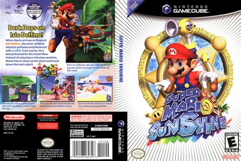 Super Mario Sunshine Europe Enfrdeesit Iso