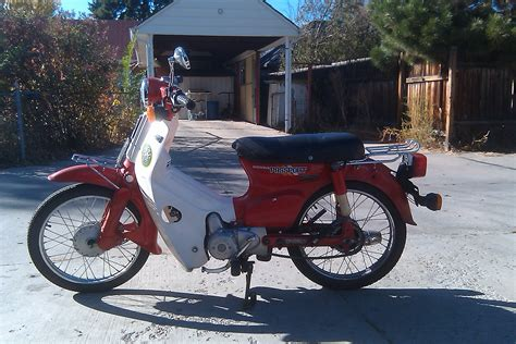 For Sale by 1982 Honda C70 Passport For Sale