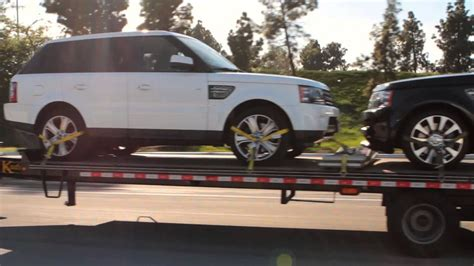 Car Transport Service by Car Shipping Open Trailer Auto Transport Service
