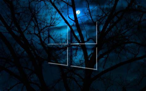 windows  hd moon night sfondi gratuiti  widescreen
