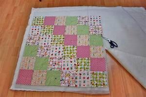 Patchworkdecke Quilten Anleitung Wie Man Eine Decke Nht