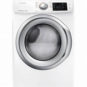 Samsung 7 5 Cu  Ft  Electric Dryer In White-dv42h5200ew