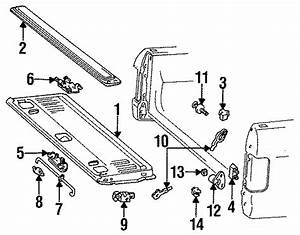 Ford F-250 Hd Latch Assembly