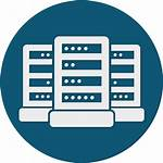 Data Icon Center Logic Plus Clipart Centre