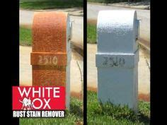 rust stain removers on