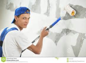 interior home painters painter at home renovation work with prime royalty free