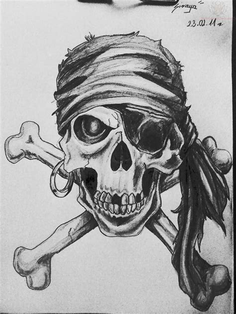33+ Best Pirate Skeleton Tattoos
