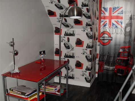 chambre style londres décoration chambre ado londres