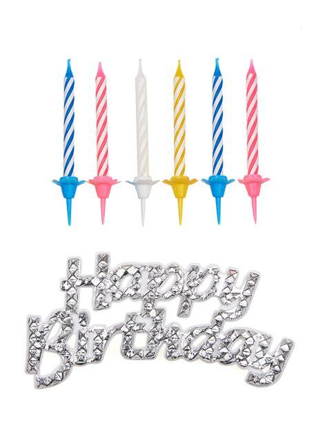 Candele Decorazioni by Decorazione Per Torte Happy Birthday Candele Su