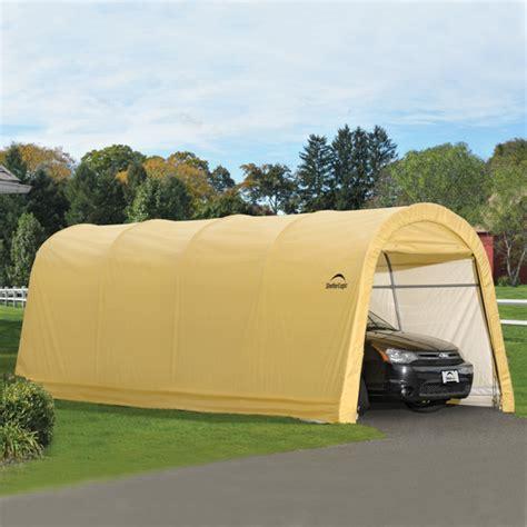 10 X 20 Garage by Shelterlogic Autoshelter 1020 Style Portable Garage