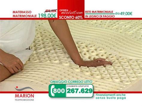 materasso marion offerta materasso marion evolution il nuovo materasso in