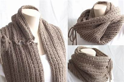 Knit Easy Scarf Cowl Pattern Knitting Feat