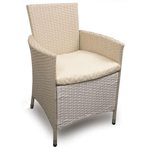 gartenmöbel b ware b ware 8x polyrattan stuhl weiss gartenstuhl gartenm 246 bel