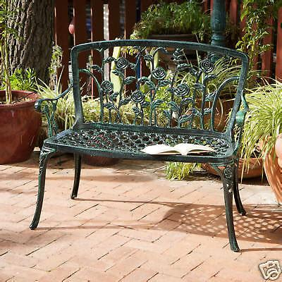 Stores That Sell Outdoor Furniture by Outdoor Patio Furniture Antique Green Finish Floral Style