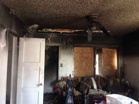 procedure  asbestos abatement fire damage clean