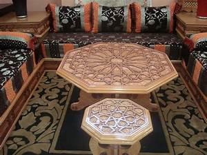 tissu salon marocain moderne deco salon marocain With salon en tissus moderne