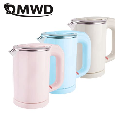 kettle electric mini travel water pot heating cup tea heater portable boiler dmwd steam bottle stainless steel voltage dual mist
