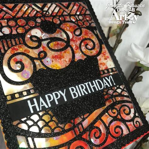 birthday shaker darebartzy blog birthday creative