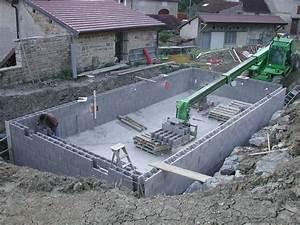 piscine bloc a bancher beau piscine en bloc a bancher 3 With construire sa piscine en bloc a bancher