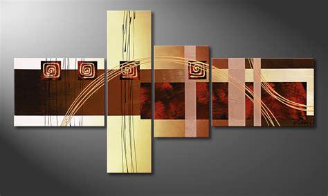 tableau pour bureau la toile pour salon golden ways 130x70cm tableaux