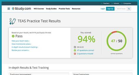 Take A Teas Practice Test & Teas Test Prep Studycom