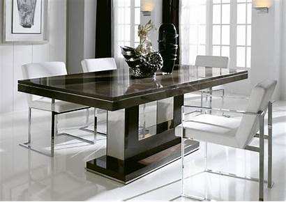 Dining Contemporary Table Modern Chairs Space Sets