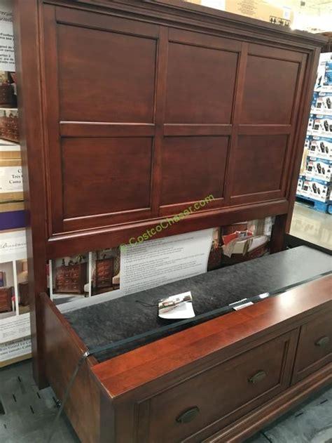 costco 997670 universal furniture broadmoore bed