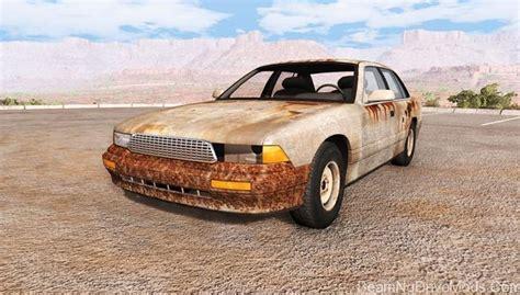 rusty car driving beamng gavril grand marshall rusty beamng drive mods