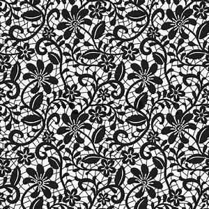 Seamless lace pattern Stock Vector Colourbox