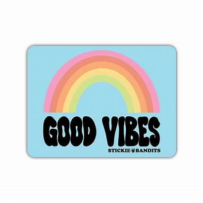Vibes Rainbow Magnet Goodvibes