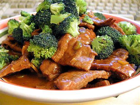 cuisine dinner file szechwan beef broccoli food dinner jpg wikimedia