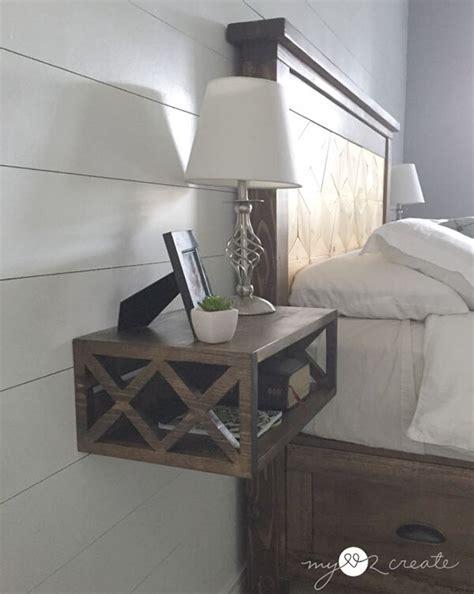 cool floating nightstand ideas   bedroom design swan