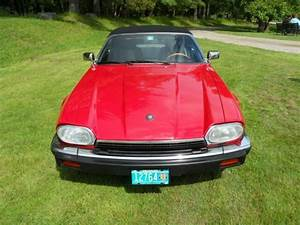 Beautiful Signal Red Xjs Convertible With Very Rare 5