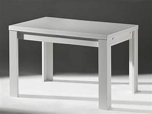 Küchentisch 120 X 80 : esstisch ausziehtisch k chentisch 120x80 wei matt ebay ~ Markanthonyermac.com Haus und Dekorationen
