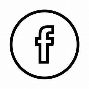 Facebook Outline Icon - Page 3