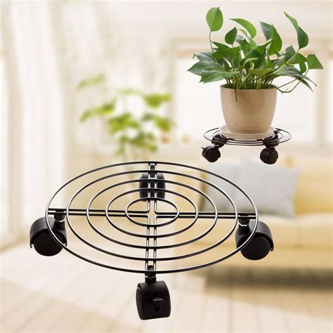 Patio Plant Stands Wheels by Get Cheap Outdoor Iron Plant Stands Aliexpress