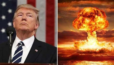 trump donald president bomb hurricanes security nuclear