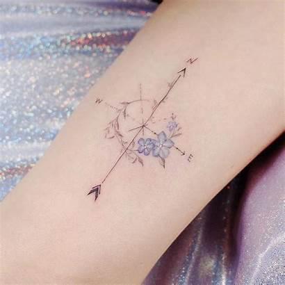 Compass Tattoo Feminine Tattoos Jin Instagra Finger