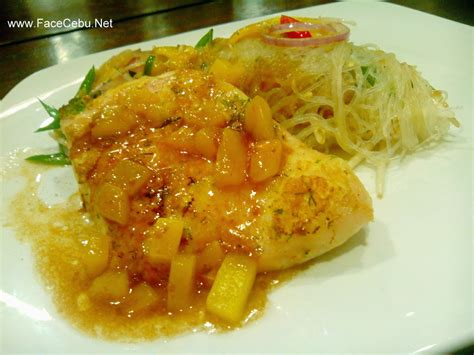egg battered chicken circa 1900 restaurant intimate dining with a twist of cebu culture cebu s face travel